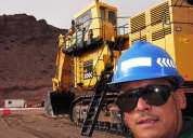 Operador de excavadora alto tonelaje