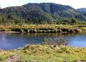 Parcela 5000 mts2-malalcahuello-orilla de rio termas araucarias vista volcán
