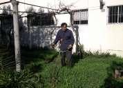 Mantenciones y construcción de prados y jardines.