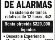 Administrativo Unidad Control de Rendiciones Las Condes