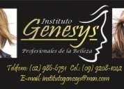 """Curso de estilista en el instituto """"genesys"""""""