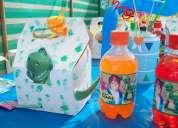 Accesorios para cumpleaños infantiles con temática