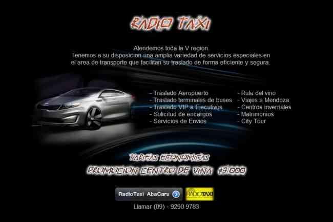RADIO TAXIS ABACARS VALPARAISO VIÑA DEL MAR CON CON 09-92909783 / 32-2626021