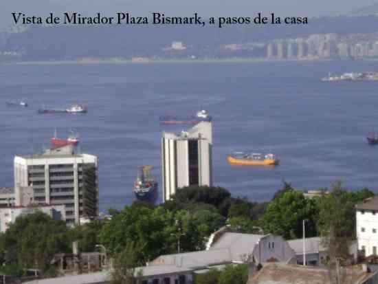 arriendo amoblado altura plaza bismark valparaiso, fono 322339961