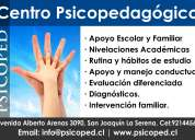PsicopedagogÍa y apoyo escolar integral. psicoped.