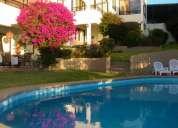 Vc292 venta de impecable casa en condominio - jardÍn del mar - viÑa del mar