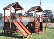 Construcción de juegos para plazas en los ángeles, biobío