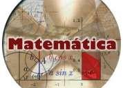 Clases particulares matematica