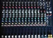 Consola mezclador soundcraft epm12