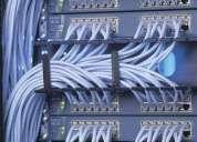 Cableado estructurado de redes, instalaion puntos de red, servicio centrales telefonicas