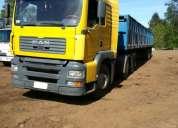 Camión man 26413 6x4 año 2005 con rampla granalera 2011