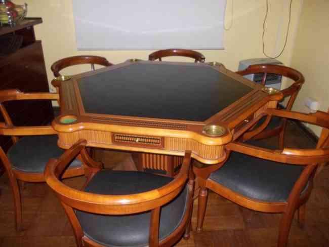 Mesas de poker segunda mano
