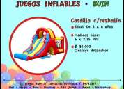 Arriendo juegos inflables buin linderos paine alrededores