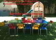 arriendo sillas y mesas para niños 67899178