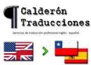Traducciones inglés - español