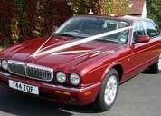 Arriendo limousine y jaguar de lujo