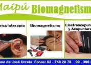 Biomagnetismo y auriculoterapia acupuntura maipu