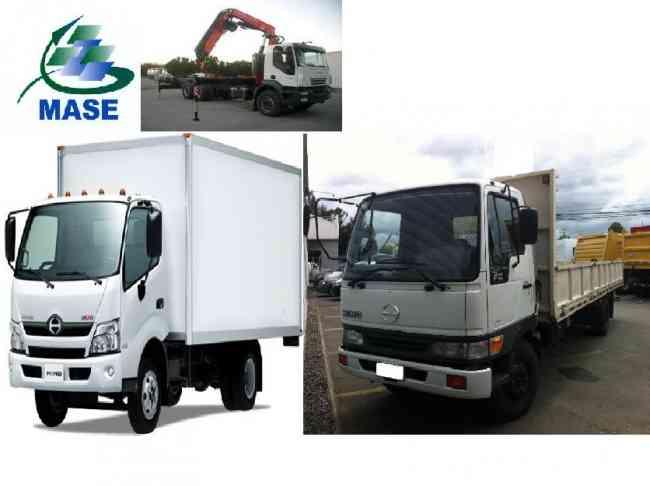 Camión Disponible para todo tipo de carga