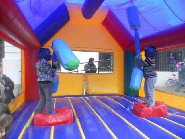 Arriendo Juegos Inflables Gladiador Santiago Doplim 137295