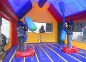 Arriendo juegos inflables gladiador