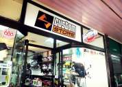 Arriendo, venta de ropa y articulos deportivos