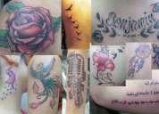 Tatuajes profesionales a domicilio