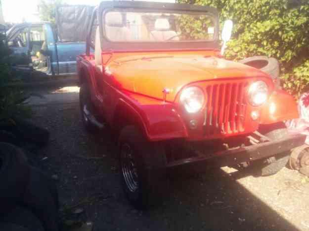 vendo jeep willye
