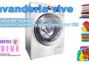 Lavandería vive lavado y planchado 2x1
