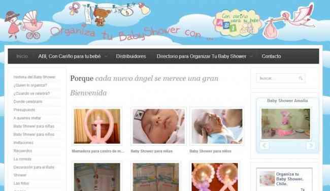 Organiza Tu Baby Shower