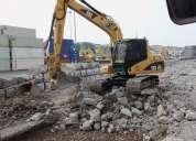 Excavadora 312 robada