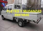 Fletes mudanzas transporte concepcion camioneta d.c. 88874640