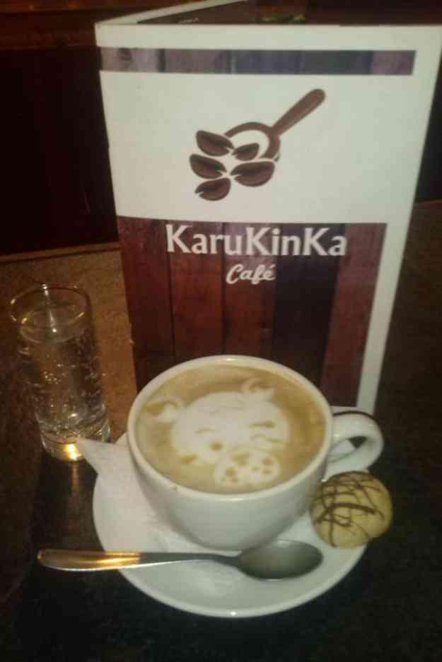 Se vende derecho de llave café karukinka