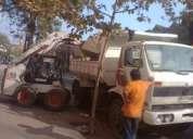 retiro escombros en ñuñoa 27033466 fletes en todo stgo camion camionetas
