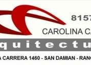 Arquitecto rancagua - carolina castro