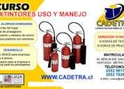 Extintores uso y manejo