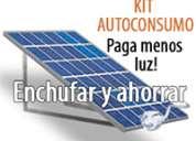 Venta e instalaciones de generador solar de electricidad auto consumo