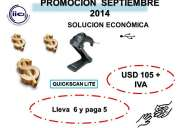 Oferta mes de septiembre quickscan lite datalogic solucion economica