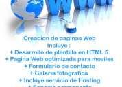 paginas web para tu negocio