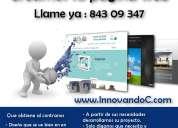 Diseño profesional páginas web económicas