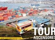 Tours fin aÑo valparaiso/viÑa del mar/santiago. guias de turismo