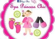 Cumpleaños spa princess chic
