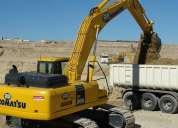 Operador de excavadora y retroexcavadora calificado