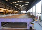 Venta mesas para la fabricación de casas prefabricadas