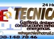 Gasfiter, instalaciones sanitarias