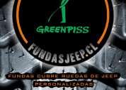 Fundas personalizadas cubre neumáticos.