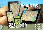 Gps para vehiculos, mapas dominicanas actualizadas. ver. 4.6