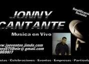 Jonny cantante para eventos