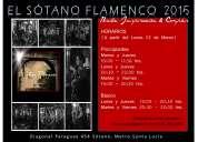 Flamenco clases de baile y compás, clases personalizadas
