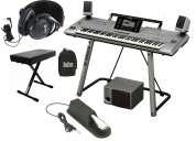 Yamaha tyros5 61-key teclado arranger de estación de trabajo