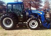 Tractor new holland t4030 con cargador